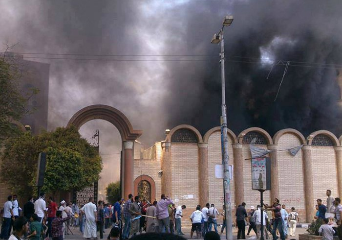 After Military Kills 500 Protesters, Islamists Take Out Anger on Egyptian Christians