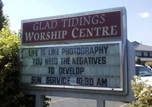 Church Signs of the Week - August 16, 2013