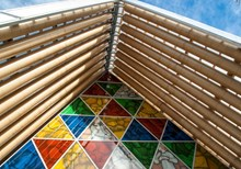 World's First Cardboard Cathedral Created after New Zealand Earthquake