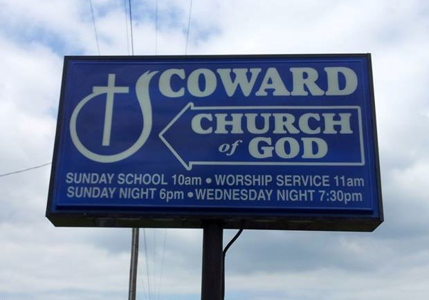 Church Signs of the Week - August 30, 2013