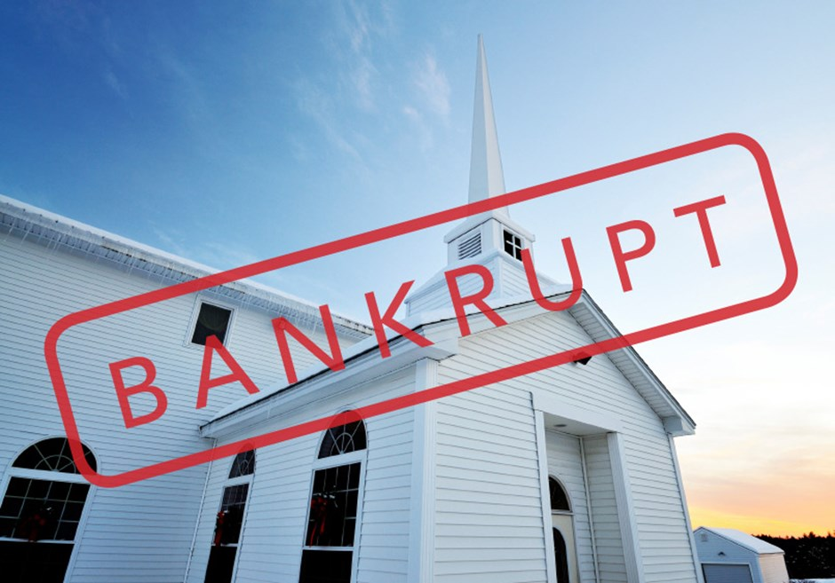 The Surprise Inside Church Bankruptcies
