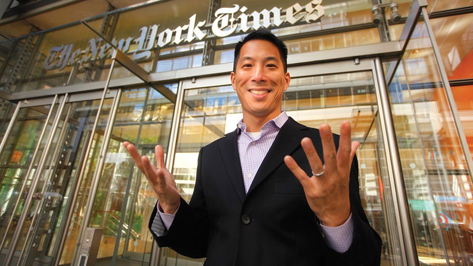 Meet the Christian Reporter Climbing the Ladder at The New York Times