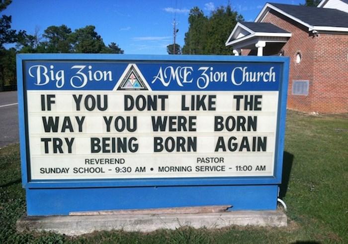 Church Signs of the Week—November 22, 2013