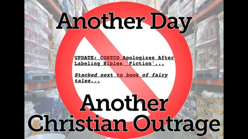 Costco's Fiction Bible: Another Faux Christian Outrage