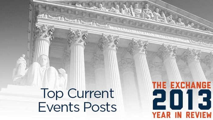 Top Current Events Posts of 2013