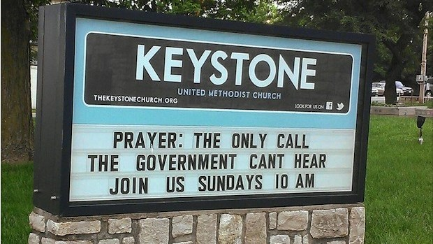 Top Church Signs of 2013