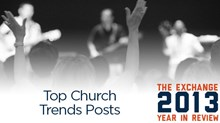 Top Church Trends Posts of 2013