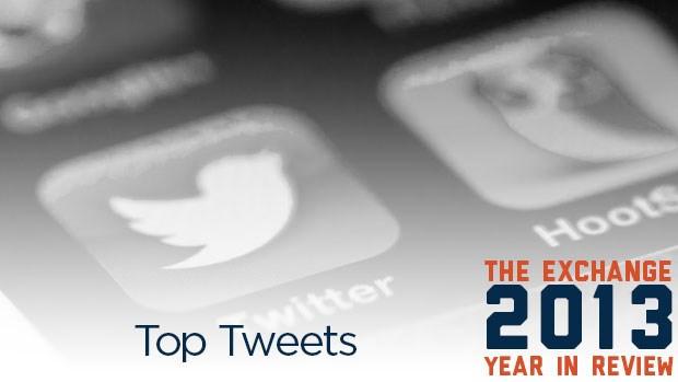 Top Tweets of 2013