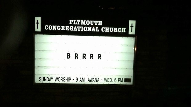 Church Signs of the Week: January 10, 2014
