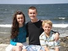 Margaret Philbrick's three children