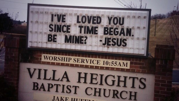 Church Signs of the Week: February 14, 2014