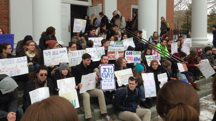 Wheaton Students Protest 'Train Wreck Conversion' Speaker's Ex-Gay Testimony