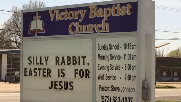 Church Signs of the Week: April 18, 2014