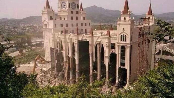 And The Walls Came Tumbling Down in China's 'Jerusalem'