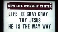 Church Signs of the Week: May 16, 2014