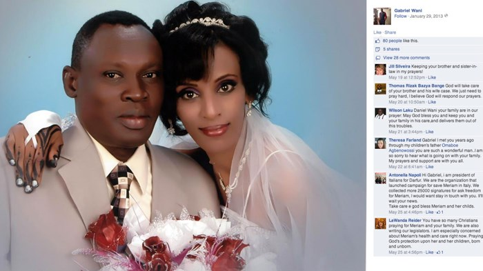 Meriam Yahia Ibrahim Gives Birth in Sudan Prison as 1 Million Protest Christian Mother's Death Penalty