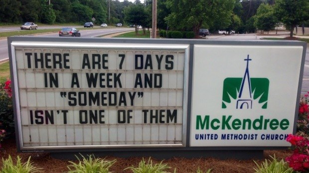 Church Signs of the Week: May 30, 2014