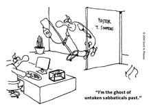 Untaken Sabbaticals