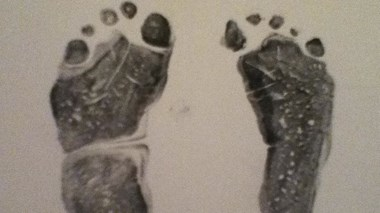 Sam's footprints