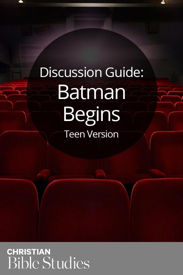 Batman Begins--Teen Version