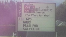 Church Signs of the Week: August 1, 2014
