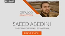 New Iran Bible Debuts as 460 Prayer Vigils Seek To 'Save Saeed'