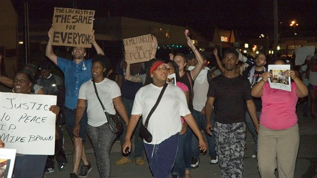 Three Months After Michael Brown's Death in Ferguson, Missouri