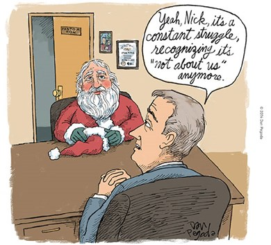 Santa Sees a Counselor