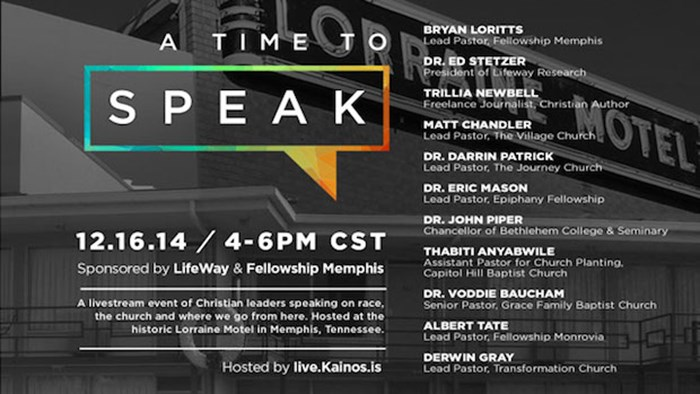 A Time to Speak, a Live Broadcast from Memphis