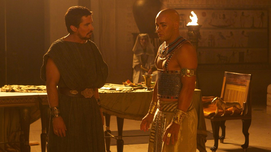 Christian Bale and Joel Edgerton on Reading the Bible, Making a Modern 'Exodus'