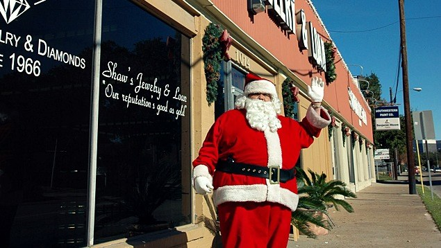 St. Nick, Patron of Pawn Shops