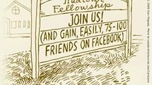 Come to Church, Gain Facebook Friends