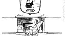 Goliath's Head on David's Wall