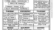Church Calendar Too Full