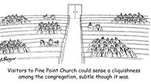 Cliquishness in the Church