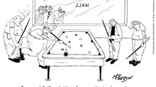 Pastor in a Pool Hall