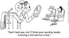 Worship Leader Has Crisis