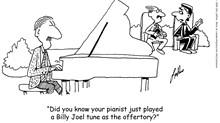 Church Pianist Plays Rock