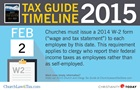 Tax Guide Reminder: February 2015