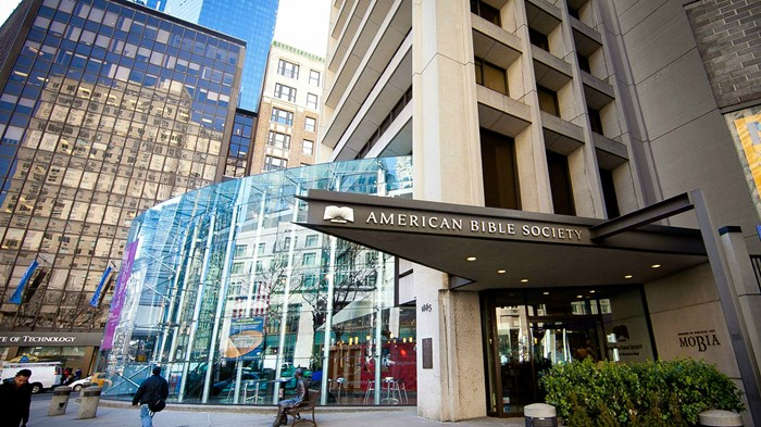 So Long New York: American Bible Society Heads to Philly