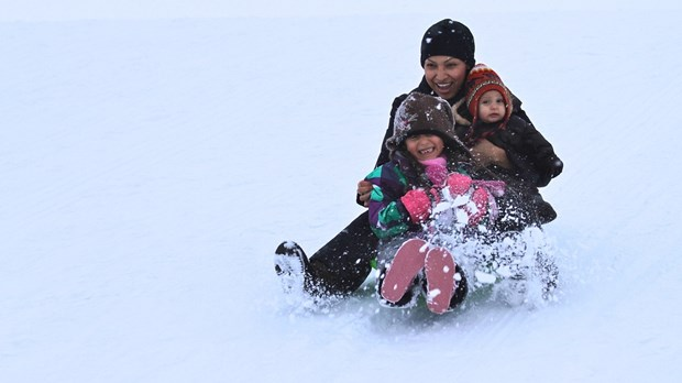Winter Makes Neighbors out of People