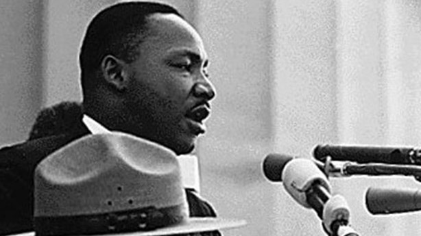 Martin Luther King Jr. Hears Jesus' Promise