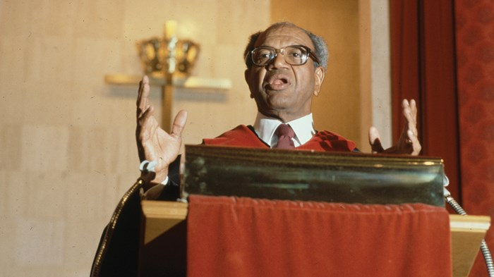 Preaching When Parched: our interview with the late, great Gardner C. Taylor