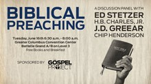 Saturday is for Seminars: Biblical Preaching, A Discussion Panel