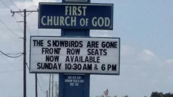 Church Signs of the Week: May 29, 2015