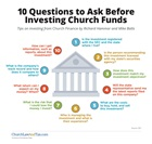 10 Investment Questions to Ask Before Investing Church Funds