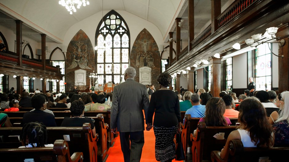 How Charleston's Emanuel AME Spent Sunday after Massacre