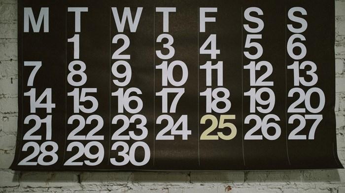 Teach the Calendar, Follow the Story