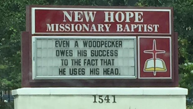 Church Signs of the Week: July 24, 2015