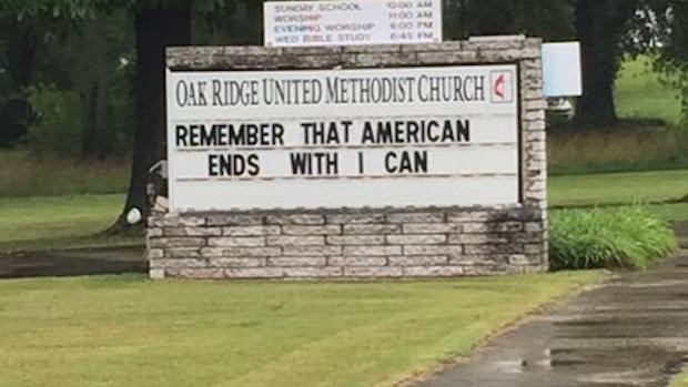 Church Signs of the Week: July 31, 2015